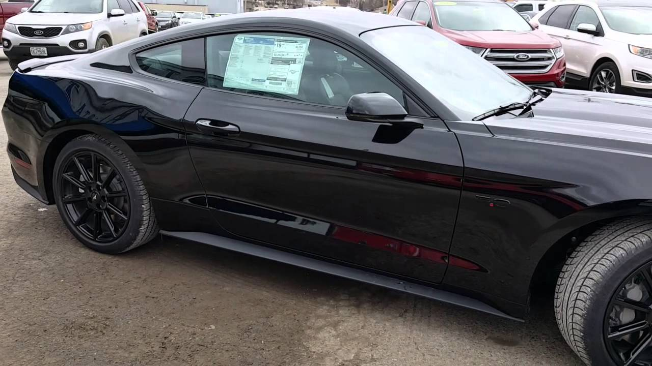 Black On 2016 Mustang Gt 5 0