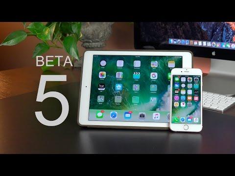 Apple iOS 10: Beta 5 (What's New?)