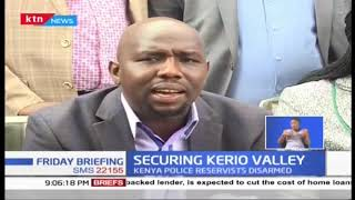 Political leaders from volatile North Rift want CS Matiang'i to provide security