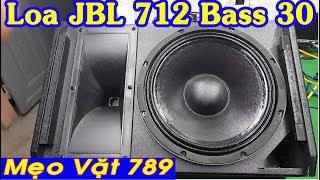 Loa JBL 712 Bass 30 coil 75 từ 190 treble kèn 450 giá 5tr8 0399 774 789