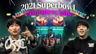 Koreans React To 2021 Superbowl Best 5 Commercials