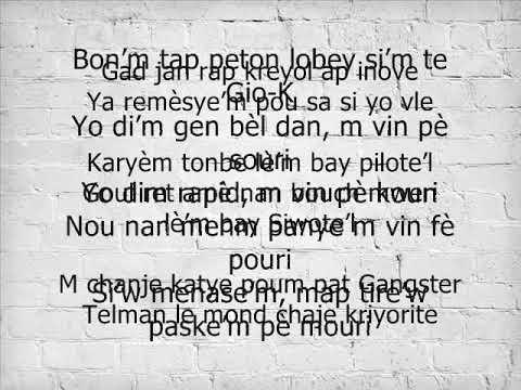 BAKY- Cesar (Lyrics/ pawol)  Album 2018 Echec Et Mat