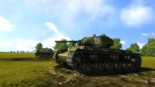 Масштабное Танковое Сражение в Реалистичной Стратегии про Вторую Мировую Войну на ПК !