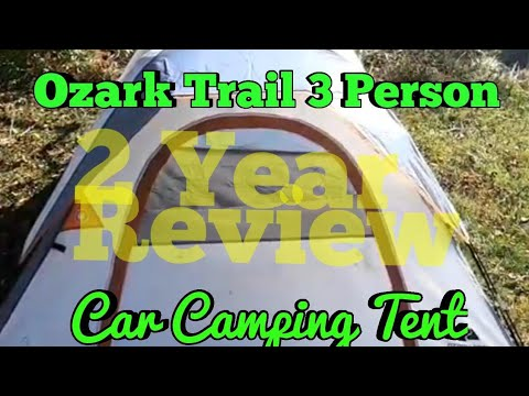 Ozark Trail 3 Man Tent 2 Year Review - Car Camping
