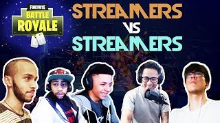 Myth Vs Daequan Vs Jaomock Vs Hamlinz Vs Spacelyon🥊Streamer Vs Streamer🥊 (Fortnite)