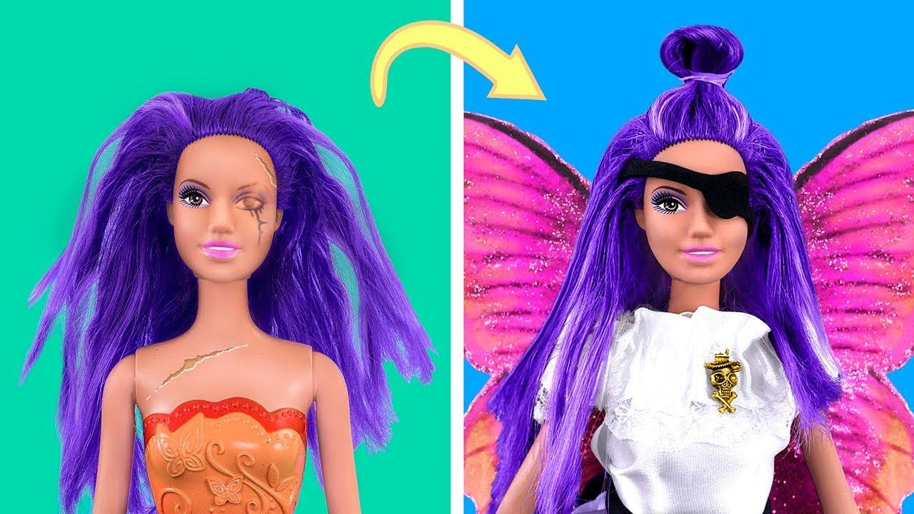 Nigdy Nie Jestes Za Stara Na Lalki 20 Wlasnorecznie Zrobionych Barbie Piratow Youtube