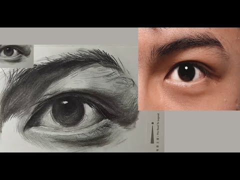 [ Basic Drawing ] How to Draw Eye's Young Man