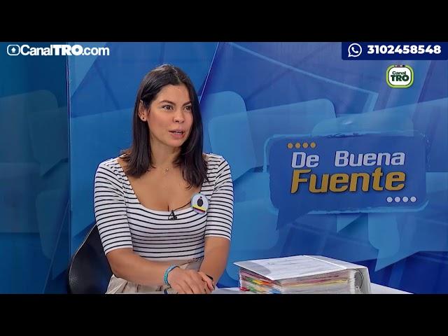 De Buena Fuente con Paola Tello Guerrero
