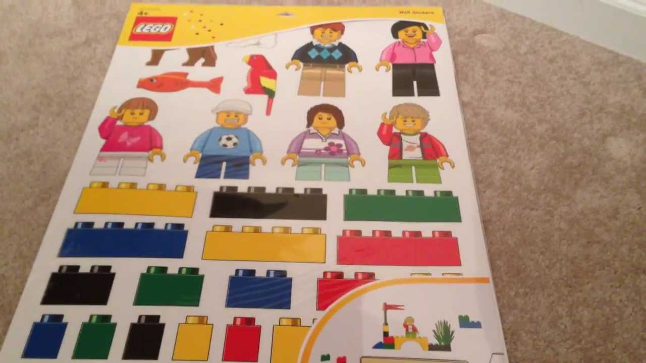 LEGO 850797 Wall Stickers - Giant LEGO stickers for your wall