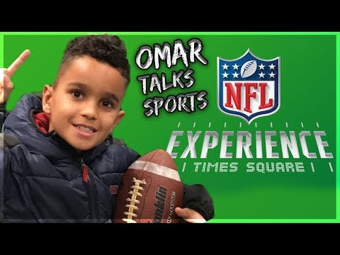 Omar Talks Sports OT : NFL Experience Time Square New York City