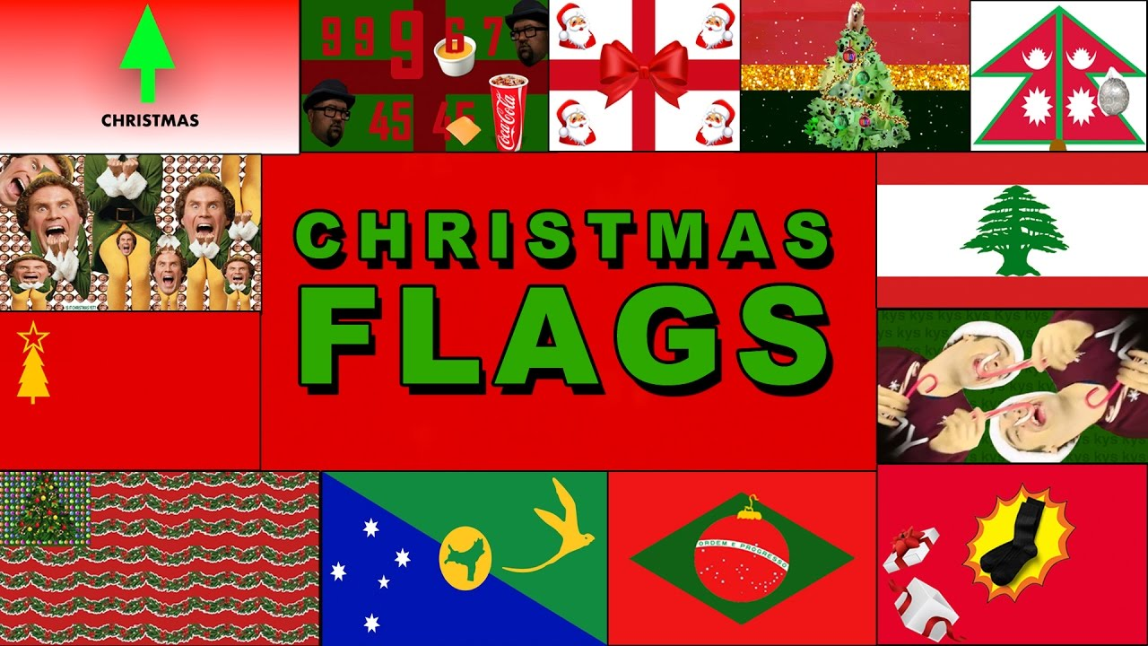 THE OFFICIAL CHRISTMAS FLAG (YIAY #298) - YouTube