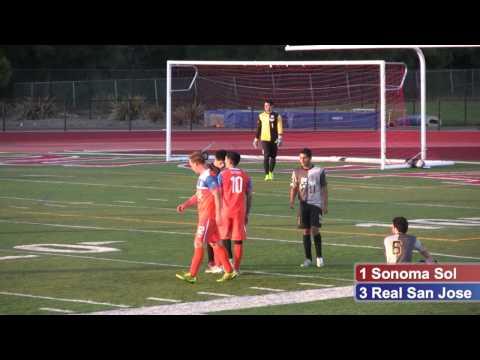Sonoma County Sol vs Real San Jose 05-23-2015