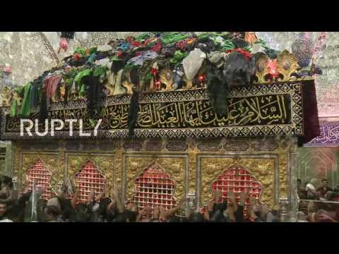 LIVE: Shia Muslims commemorate Ashura in Karbala