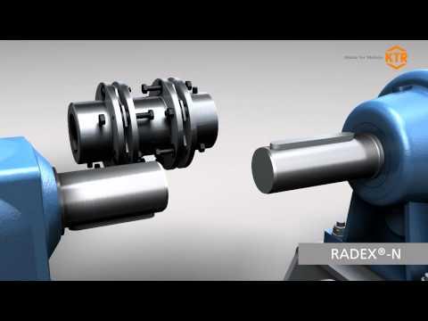 KTR couplings for Pump-Motor applications
