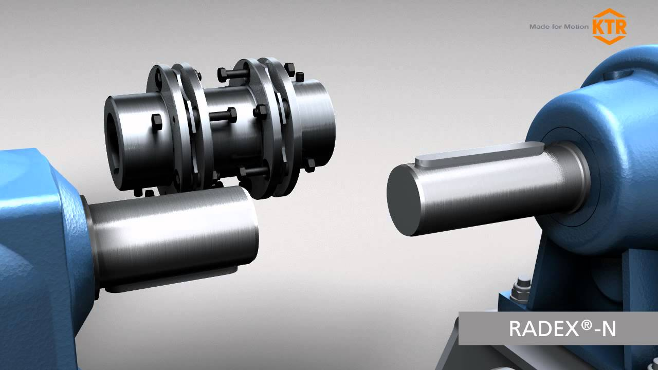 Ktr Couplings For Pump Motor Applications Youtube