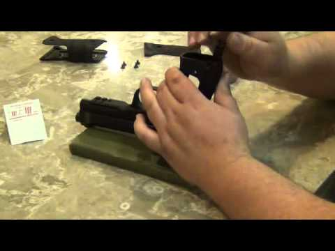 Beretta 92 A1 Hammer Spring Upgrade - how to -