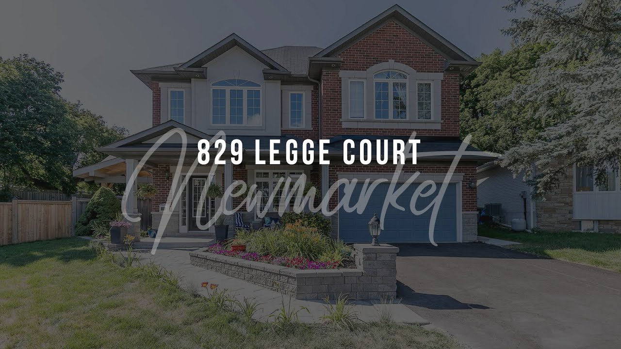 Download 829 Legge Crt Newmarket Ontario