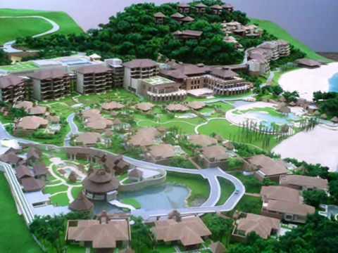 Architectural Scale Model Shangri La Boracay Resort