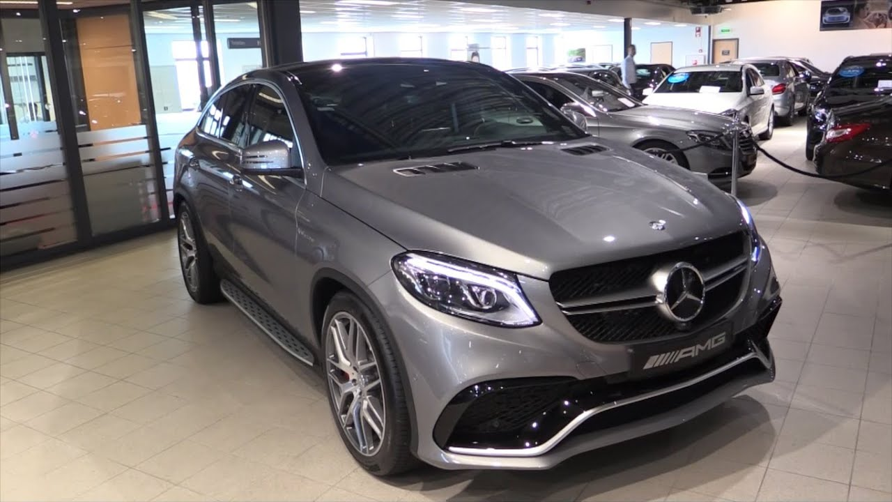 mercedes-benz gle 63 s amg coupe 2017 in depth review interior