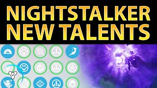 Planet Destiny: Nightstalker Guide - 9 Updated Talents