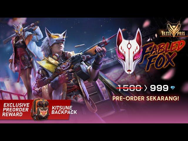 Elite Pass Fabled Fox! Booyah Makin Kece dengan Kostum Rubah Kekinian!