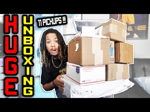 MASSIVE CLOTHING AND SNEAKER UNBOXING !! BBC, PUMA, SANDAL BOYZ, COUSINS BRAND, & GIFTS FROM SUBS