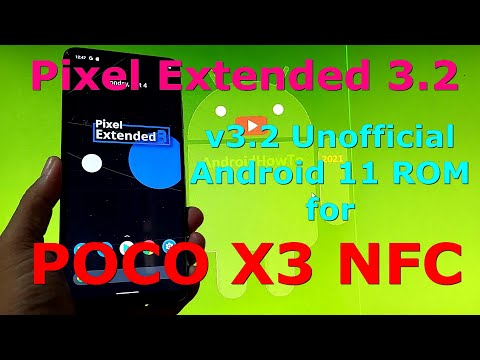 Pixel Extended 3.2 Unofficial for Poco X3 NFC (Surya) Android 11