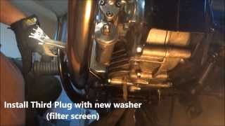 Royal Enfield Bullet Oil and Filter Change