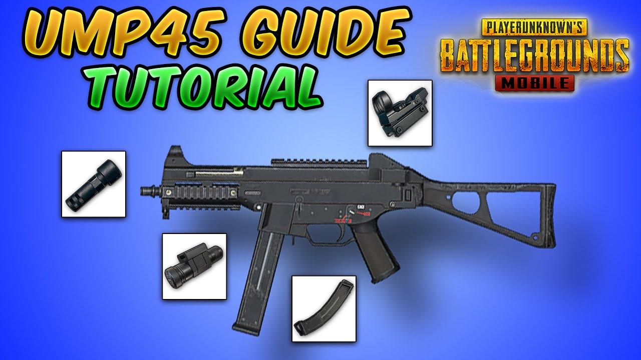 UMP45 Guide/Tutorial (PUBG Mobile & BGMI) Tips and Tricks