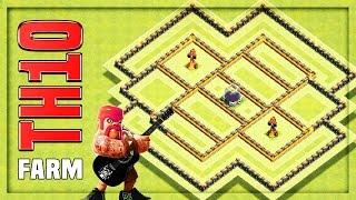TH10 Farming Base #9 + Replays 🔸 TH10 HYBRID BASE 🔸 Clash of Clans