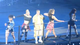 (Some of) Company - Justin Bieber LIVE Purpose Tour Barclays NY 5/04/16