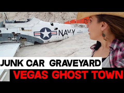 Techatticup Gold Mine Ghost Town Antique Car Junkyard Near Vegas Strip