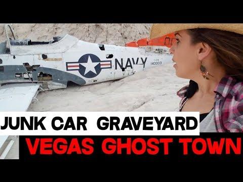 Techatticup Gold Mine Ghost Town Antique Car Junkyard Near Vegas