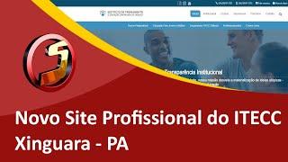 Criação do Novo Site do Instituto de Treinamento e Educação Continuada do Carajás - Samuca Webdesign