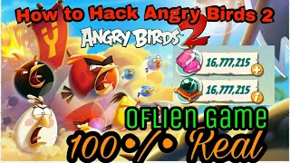 How to Hack Angry Birds 2 10000000 •/• Rael {Hindi}