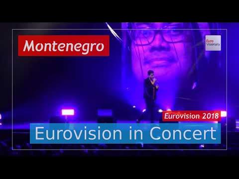 Montenegro Eurovision 2018 Live: Vanja Radovanović - Inje - Eurovision in Concert