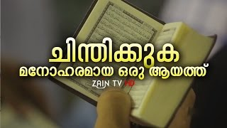ചിന്തിക്കുക -മനോഹരമായ ഒരു ആയത്ത്- Super Islamic Video | Zain TV HD