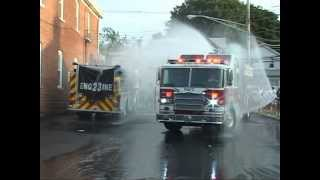 Volunteer Hose 2 West Haverstraw,ny Fire Department 23 - 1500 Wetdown part 1 of 2