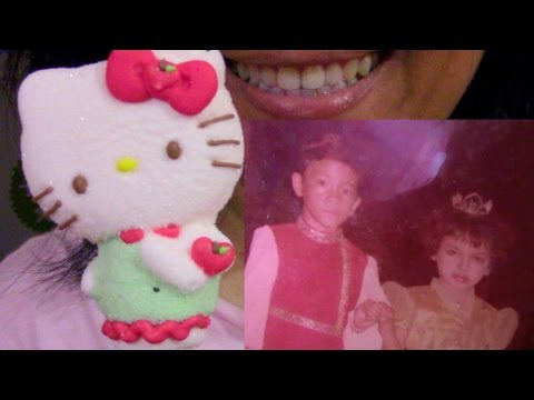 ASMR Hello Kitty Marshmallow Lollipop Family Photos Philippines ScorpioAnnYT