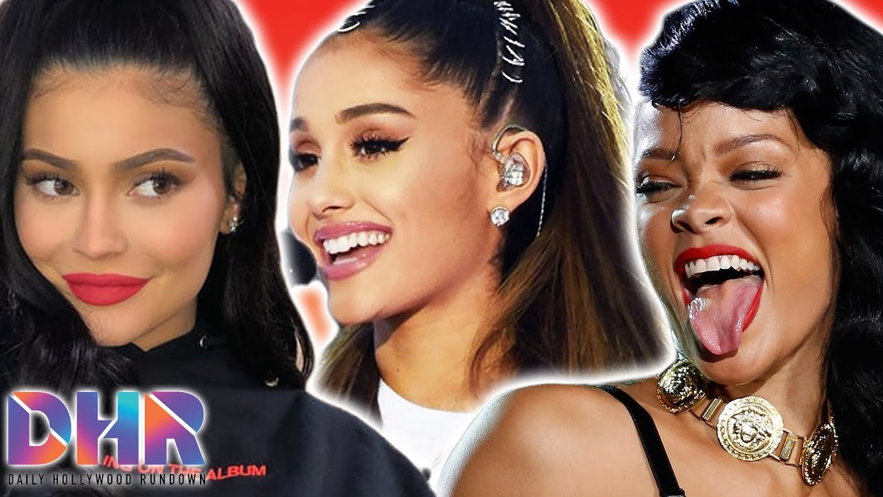 Ariana Grande COLLABING With Kylie Jenner?! Rihanna SHUTS DOWN Pregnancy Rumors With Post! (DHR)