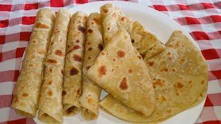 Jinsi ya kupika chapati laini za kusukuma bila kukanda sana | How to make soft chapati