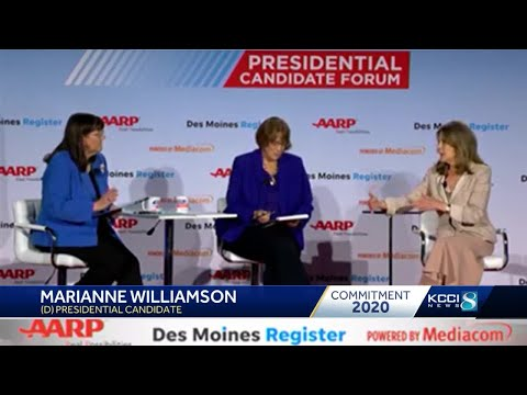 Presidential hopefuls talk health care at AARP forum - YouTube