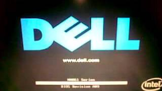 Boot Error Dell Inspiron after DST test Fail.