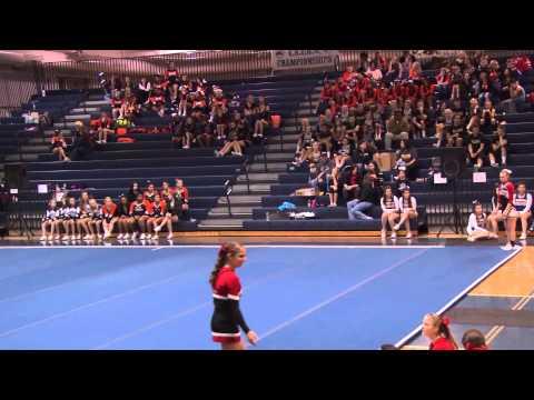 Tumble Off - 2014 YAIAA Cheerleading Championship at Dallastown High School