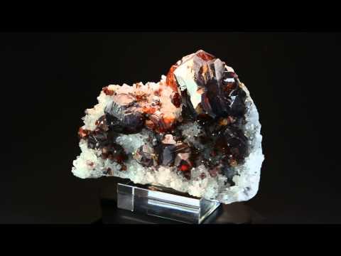 FA266, Sphalerite Sphalerit, Rucheng Mine China