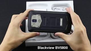 New Blackview Bv5800 IP68 Review and Unboxing 4G  Touch ID Mobile phone - Price
