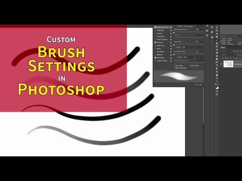 Custom Brush Settings In Photoshop