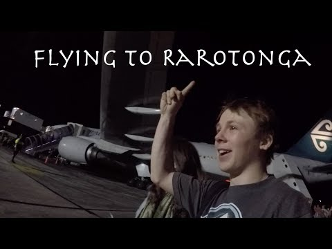 Flying to Rarotonga!!