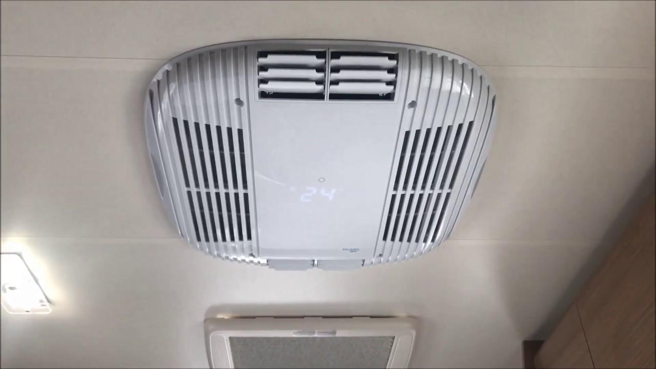 Aire acondicionado belaire 2000 caravaning k2 youtube for Aire acondicionado caravana barato