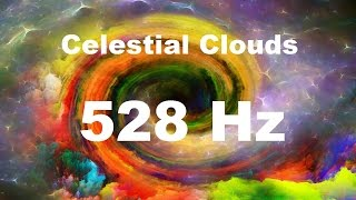 Solfeggio Celestial 528hz Miracle Tone | DNA healing | Sleep Meditation Music | Relaxation
